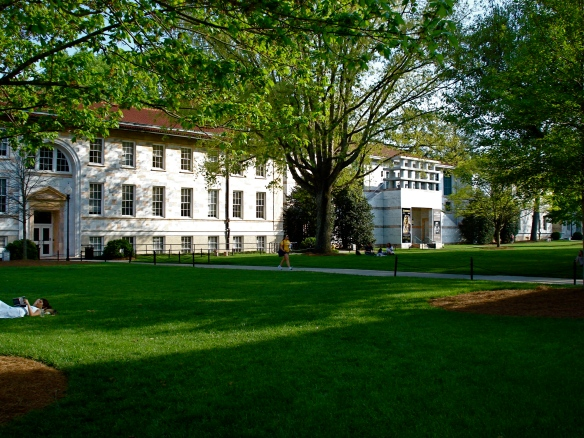 Emory Campus - the main quad