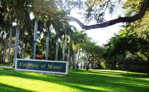 University of Miami at Coral Gables